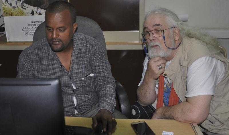 Addis Abba, Ethiopia: Working with local crew