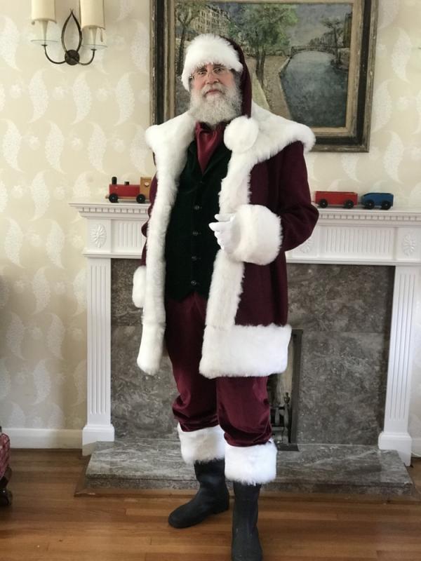 Albert Clogston as Santa Claus