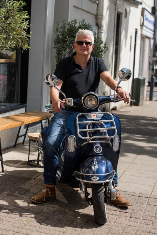 Robert Wilkinson Full Length Scooter