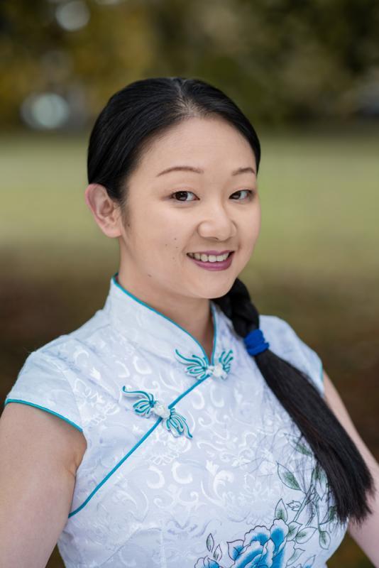 Chinese Dress Headshot