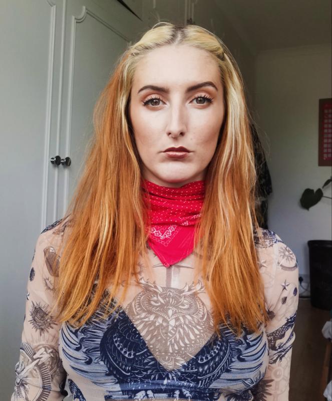 Updated hair colour, headshot