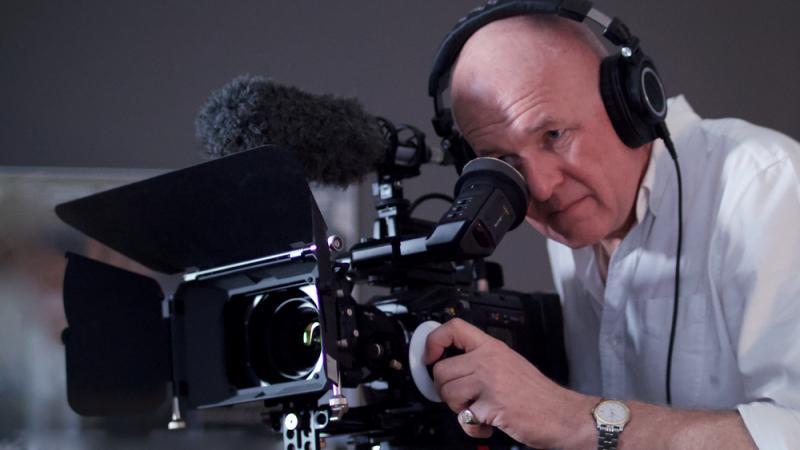 Camera operator & editor Murray Mackinnon Buesst