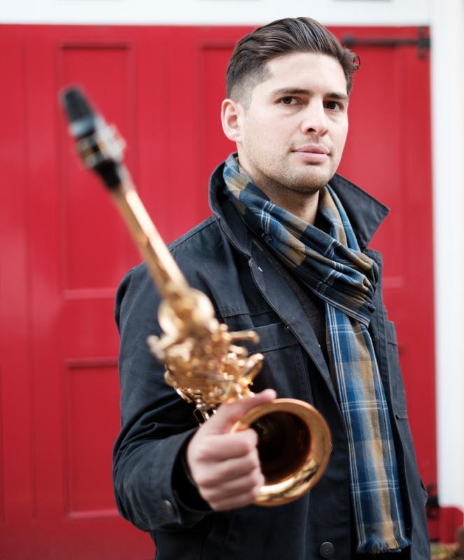 Jon Shenoy outdoor alto sax
