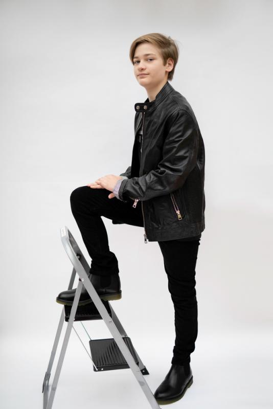 Ivan standing