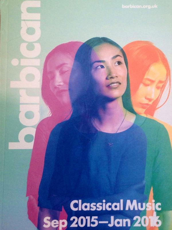 Barbican Magazine Cover 2015-16