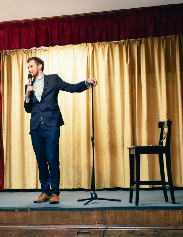 Presenter for Stand Up Show