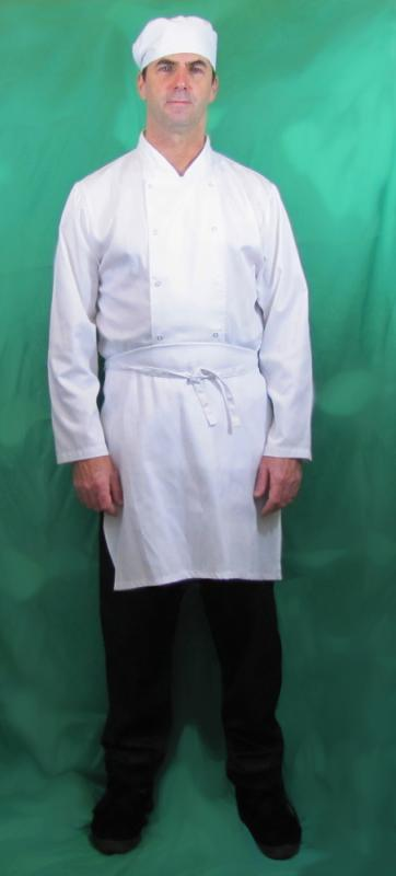 Chef uniform for filming
