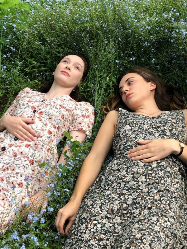 Hair and Makeup on Ellie Goffe and Amy Tyger - The PASSING