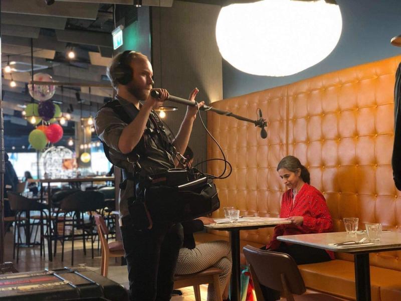 Sound Recordist (Pizza Express Internal Training)