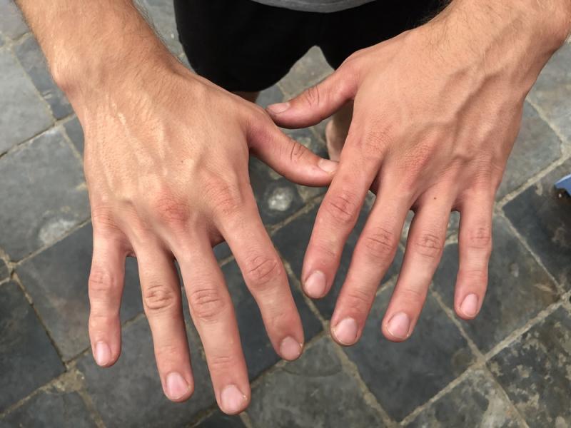 Recent hands