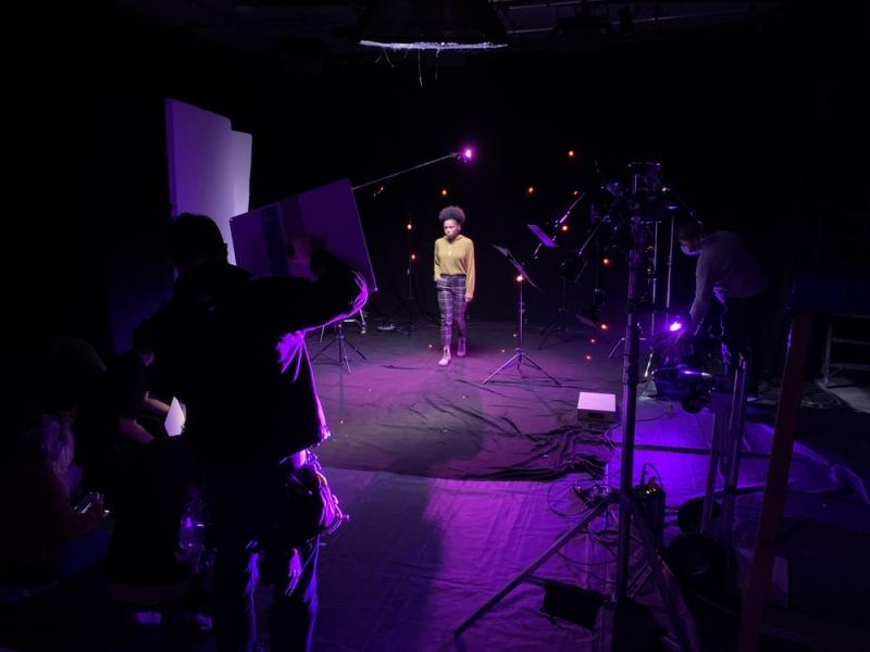 VFX shooting Day