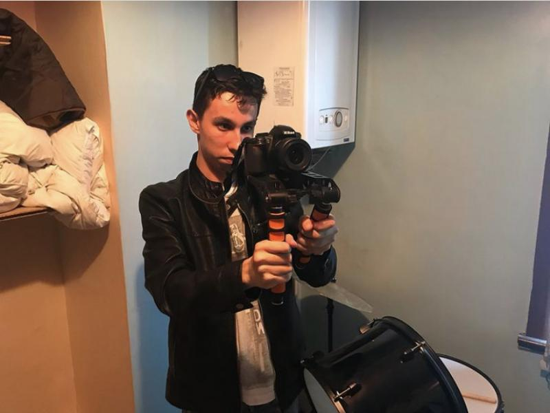 Filming 'Michael's Lives (2019)'