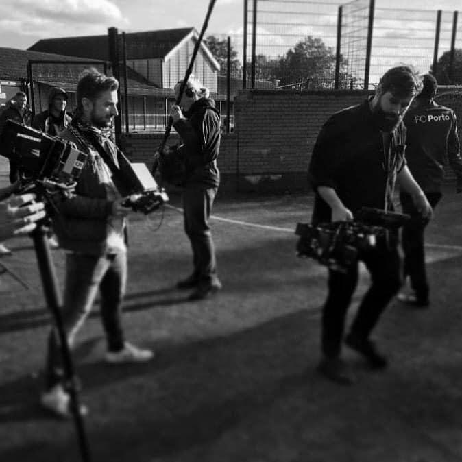 Mark directing New Balance commercial