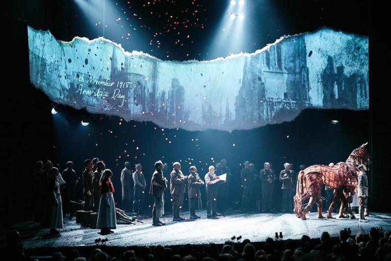 'War Horse' Armistice Day Centenary Performance - Lyttleton Theatre NT 2018