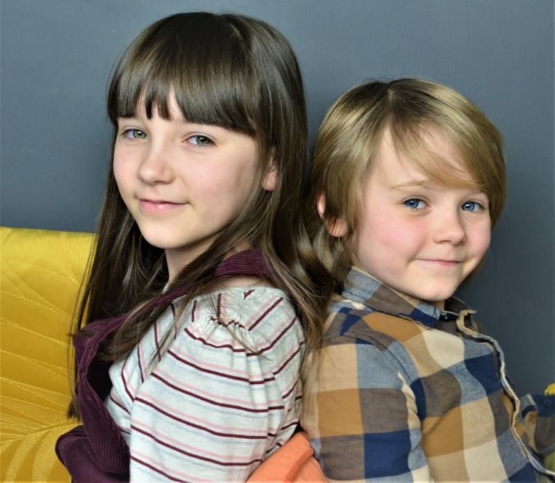 Rumer and her brother Sonny