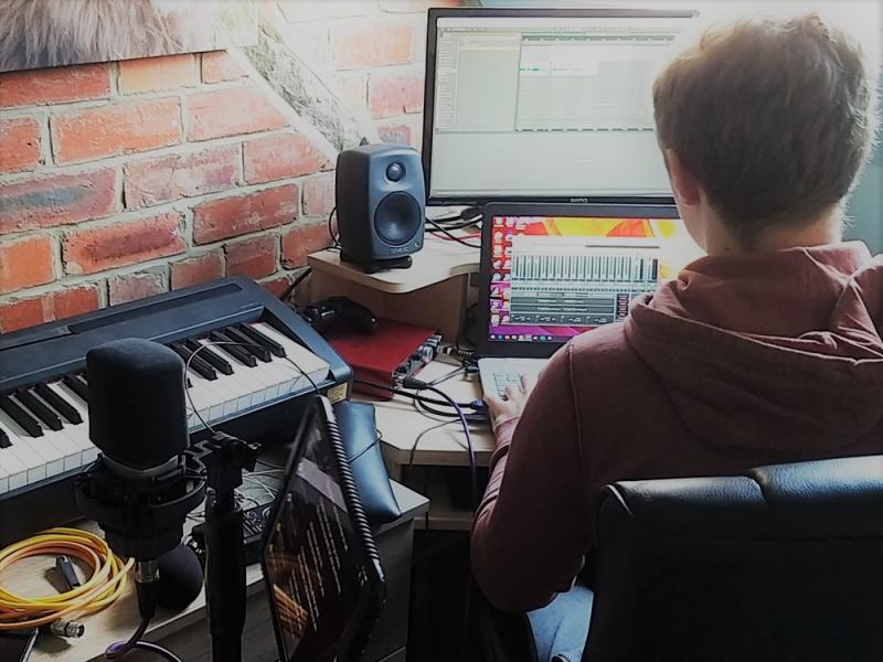Robert Southby - home studio