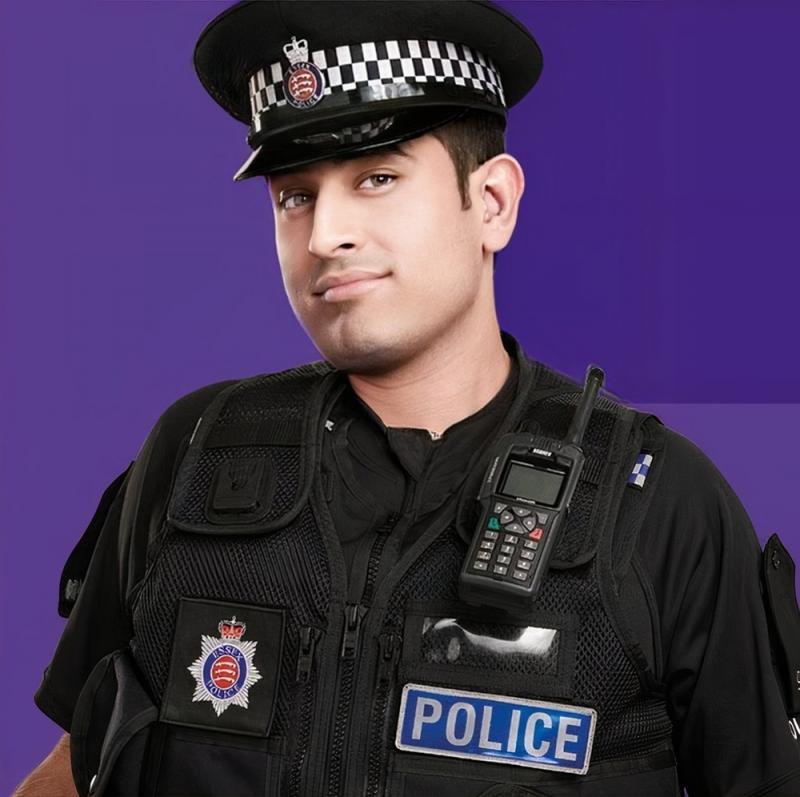 Police Officer Headshot