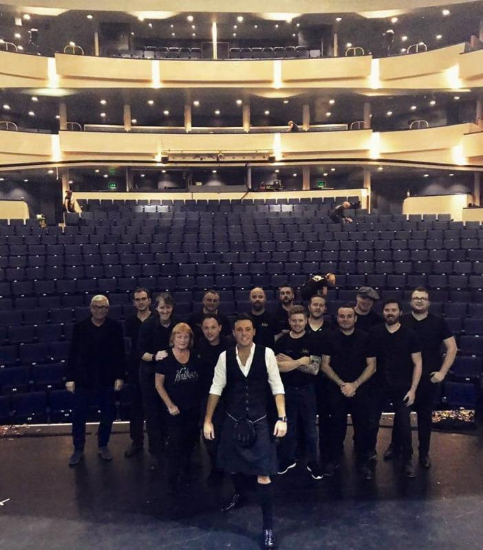 Crew Pic, Nathan Carter @ Eden Court Theatre, Inverness