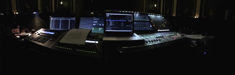 FOH Desks; Epstein Theatre, Liverpool
