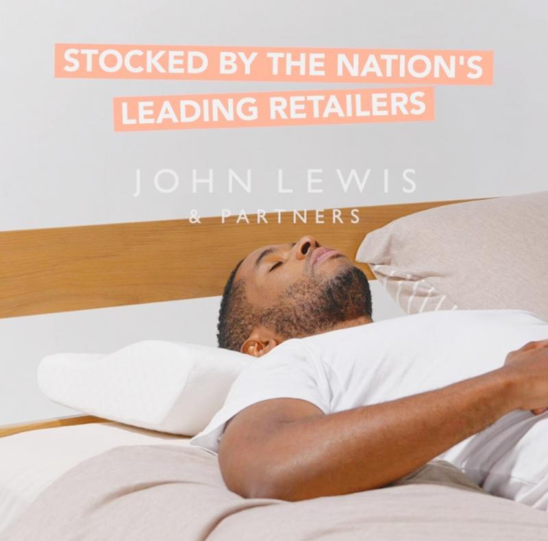 Kally Sleep Wedge Pillow (publicity stills/online) John Lewis