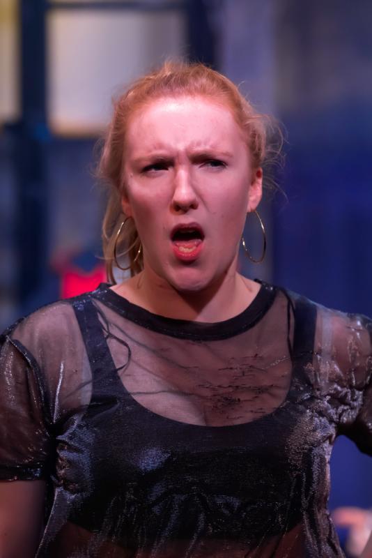Hannah Moss, as Hostess Quickly in Henry V