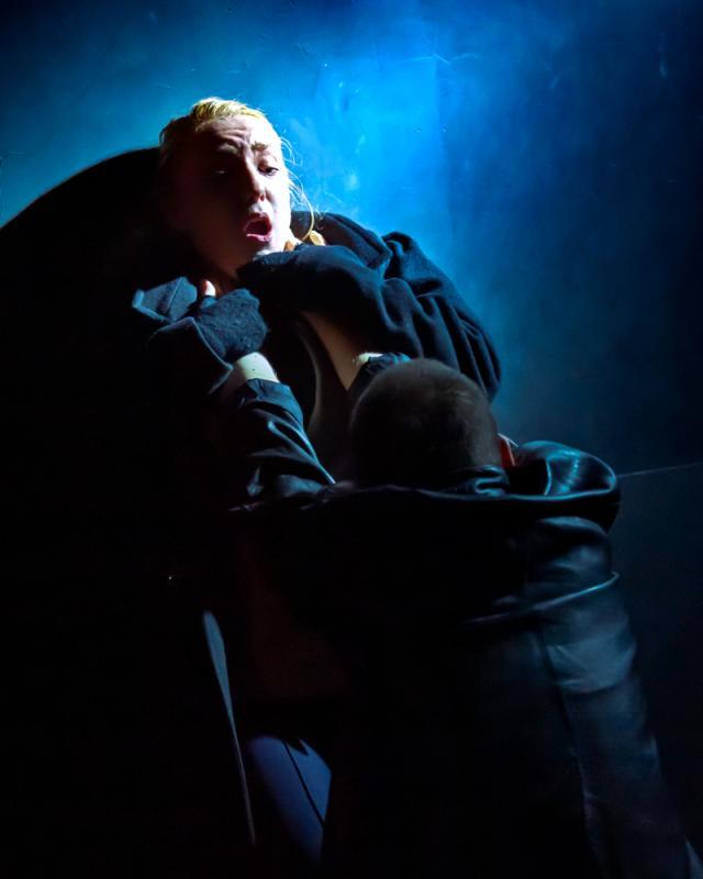 Combat scene in 'The Lower Depths'