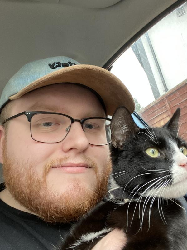 Me and the cat