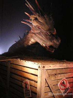 Animatronic Dragon