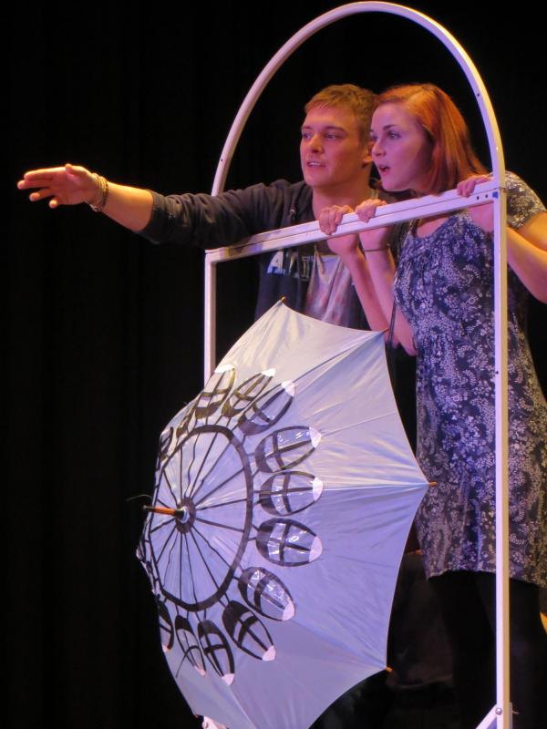 Dreaming In English, actors: Michael Staveley, Rachel O'Hare