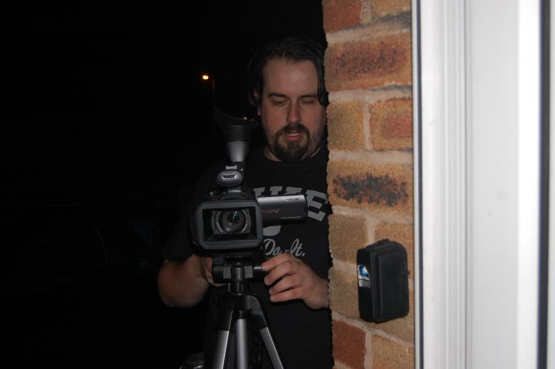Behind The Scenes Picture from The Occupier