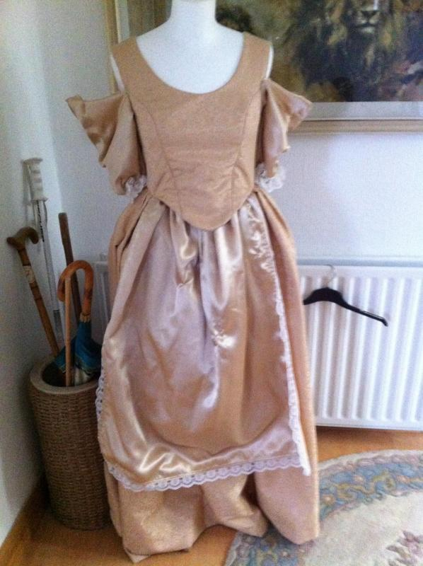 Cinders rip dress double