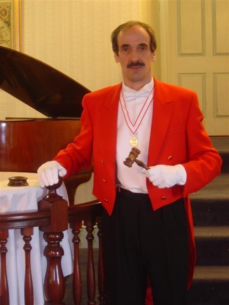 Toastmaster, Compere, Master of ceremonies- Edmond Wells MAUKSPT