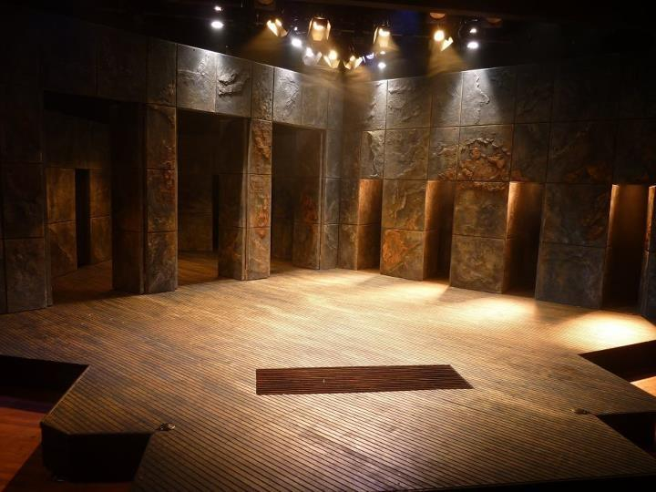 "Finished Set for ""The Scottish Play"""