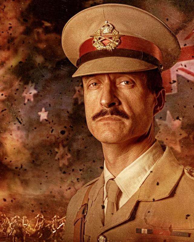 As Major Steward in GALLIPOLI - END OF THE ROAD, Warner Bros