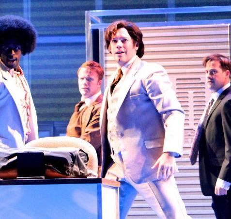 """70's Office Worker in """"9 to 5"""" The Musical"""