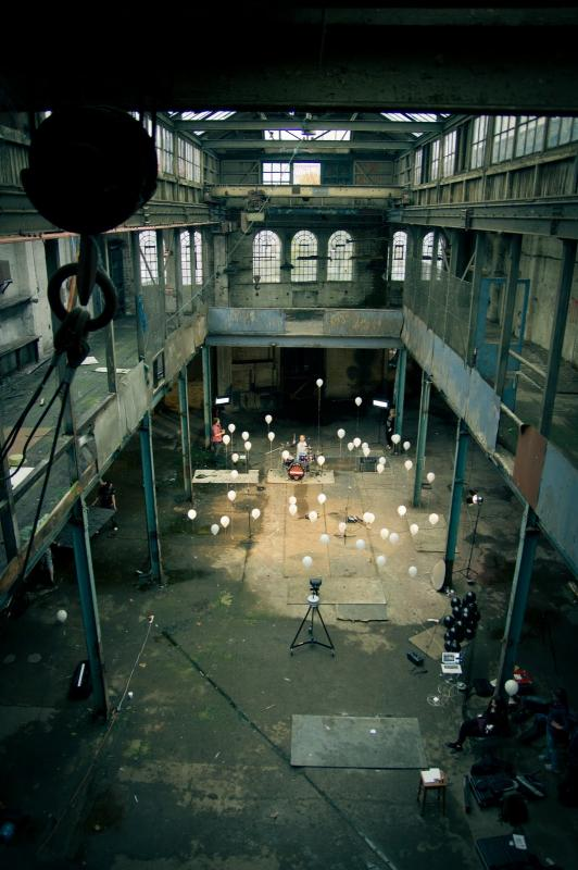 Making of FireFallDown music video1