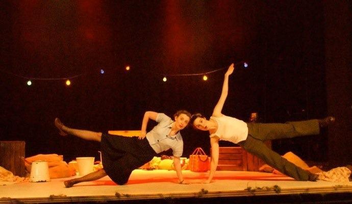 'Up The Café de Paris' The New Players Theatre