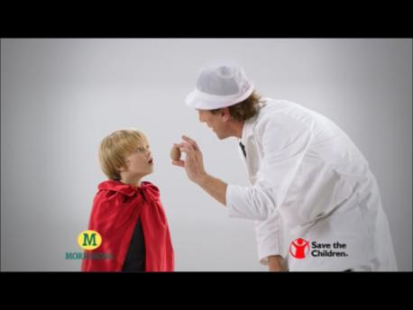 Max on Morrisons Advert