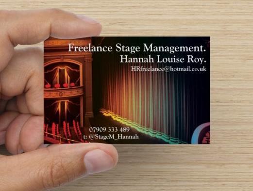 Hannah Roy Business Card