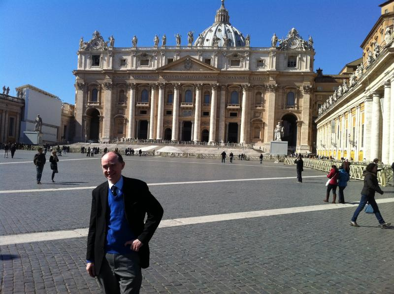 At the Vatican, Rome, Italy