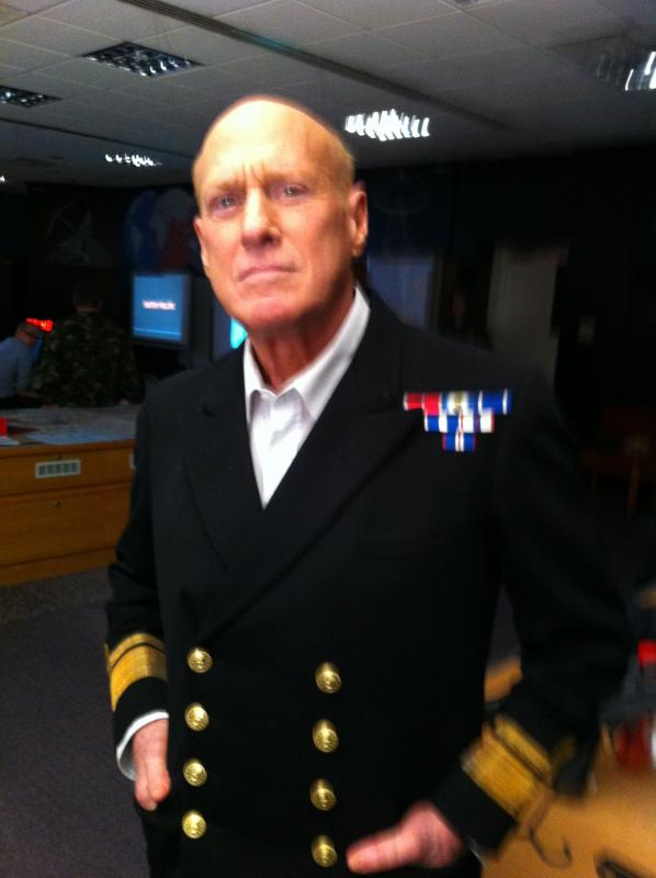 Rear Admiral Bennets in 'The Dead Sea' Feature Film