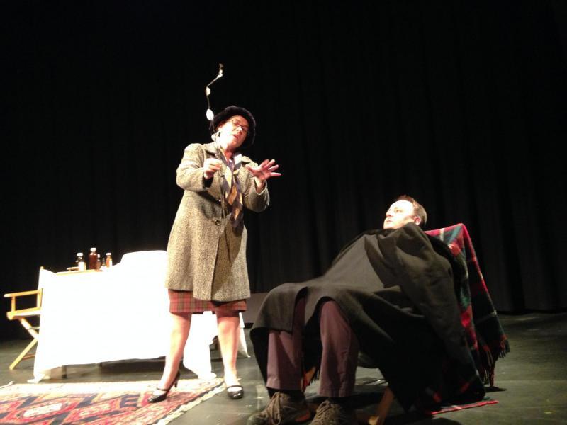 Madame Arcarti in 'Best of Hancock'