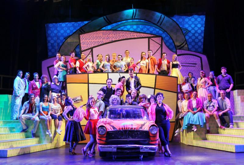 Cast and Crew of Grease