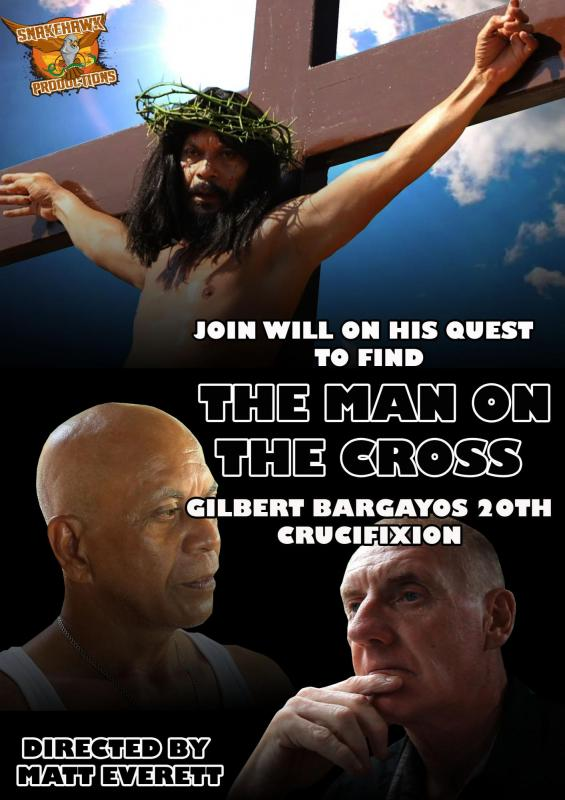 THE MAN ON THE CROSS DOCUMENTARY POSTER