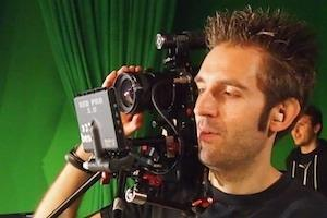 Neil operating a Red Epic