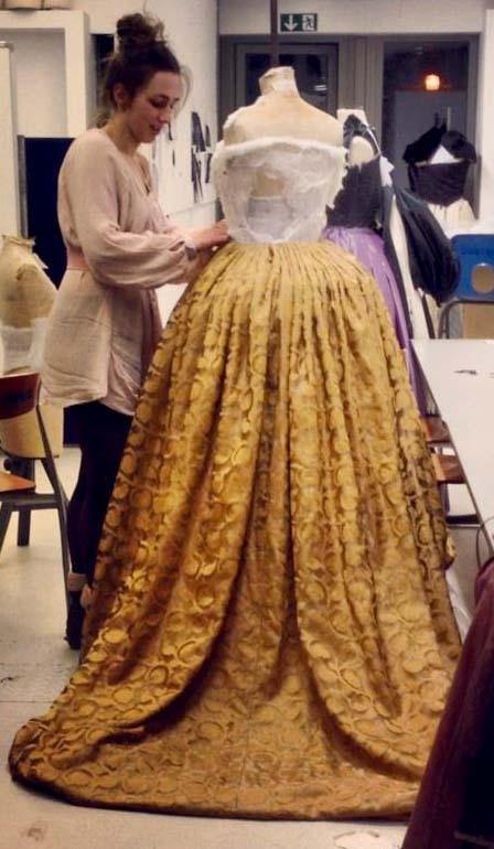 Reonstruction of Catherine Parr Costume