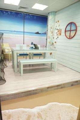 Beach Hut Conference room for ITV