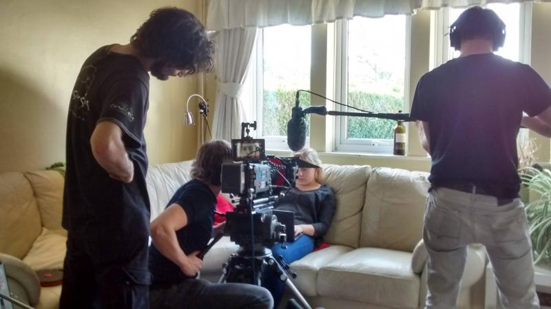 'Shattered' Filming. ARRI Alexa with Cooke S4s