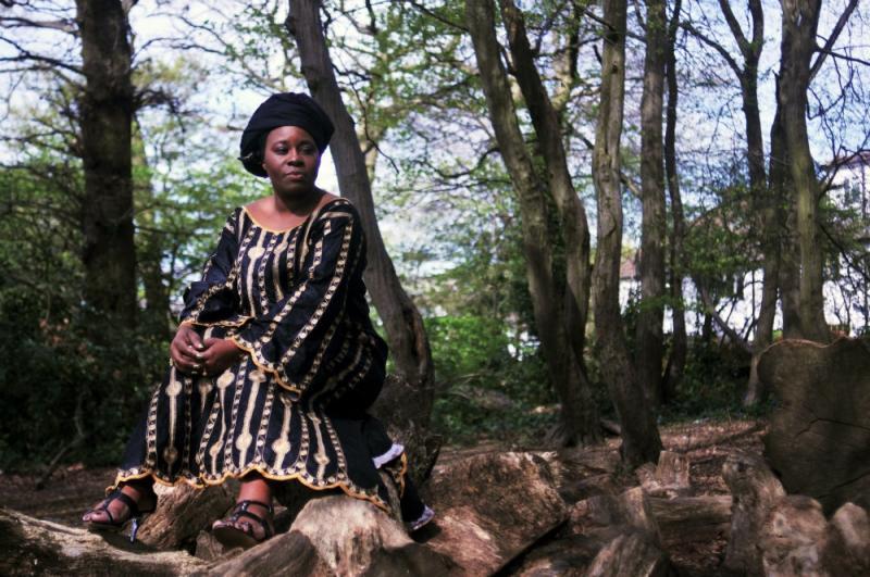 Coco Mbassi new album photoshoot
