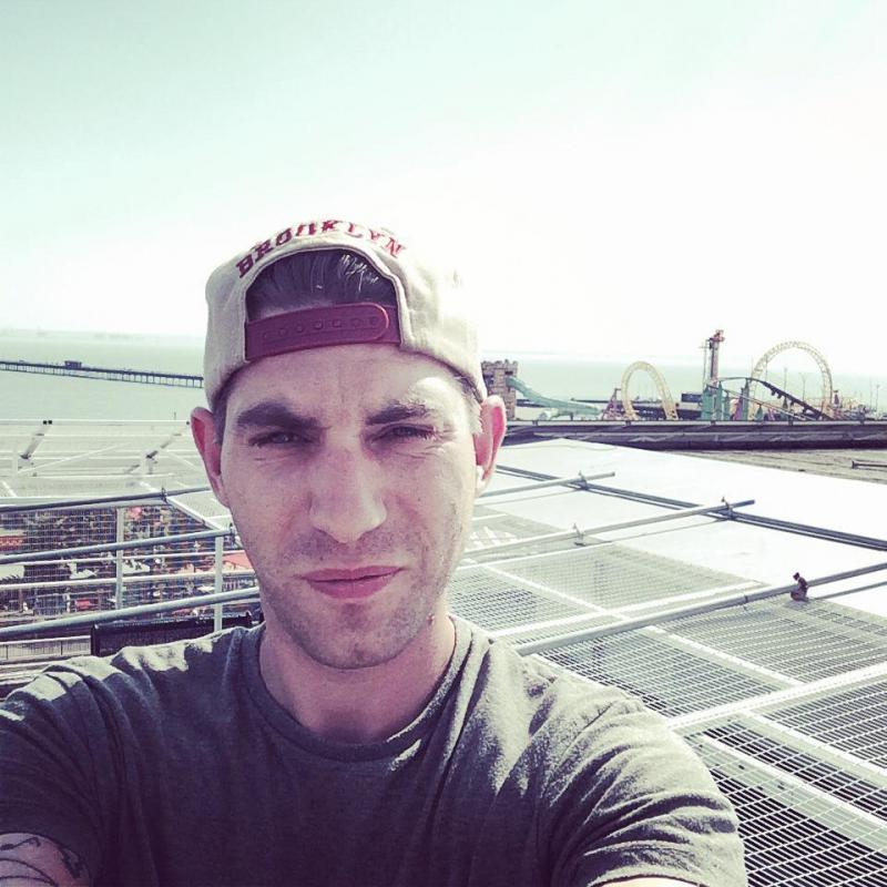 me on roof top overlooking southend pier